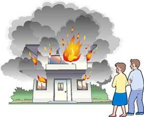 ガス警報器は火災事故防止にも対応しています