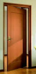 回転引き込みドア