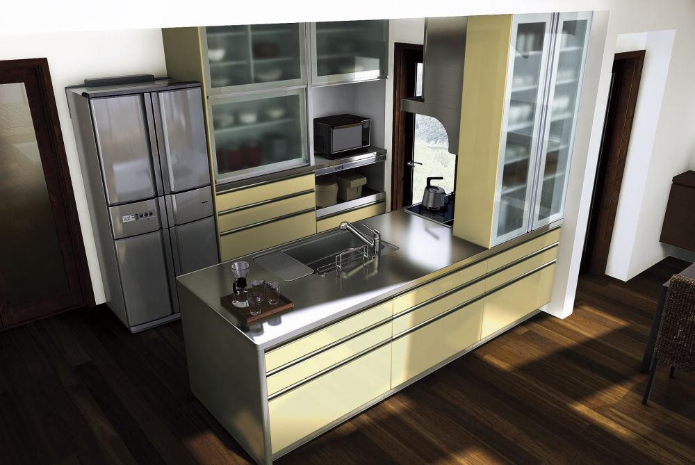簡易施工型システムキッチン