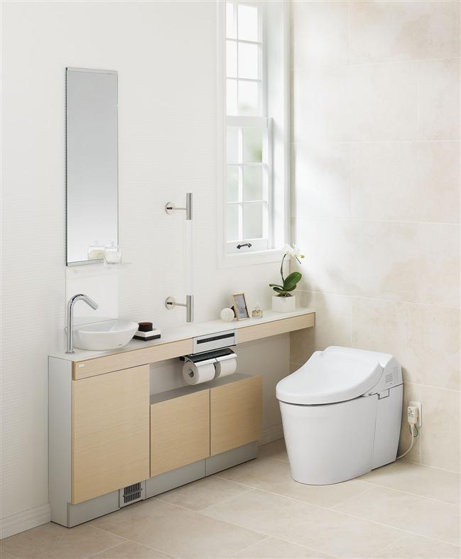 手洗器を独立させて設置